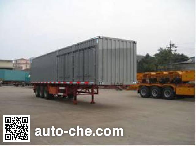 Changchun Yuchuang FCC9390X box body van trailer