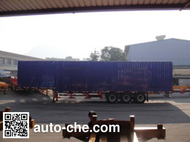 Changchun Yuchuang FCC9401XXY box body van trailer