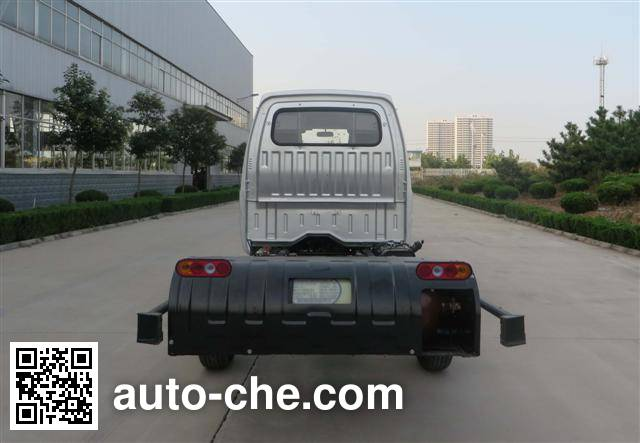 UFO FD1027R13Q5-S1 dual-fuel truck chassis