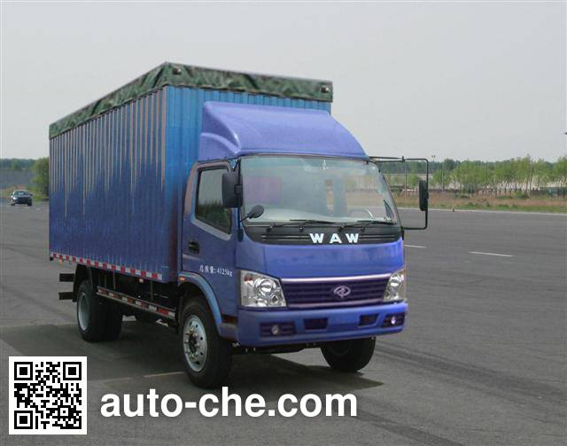UFO FD5040CPYW10K soft top box van truck