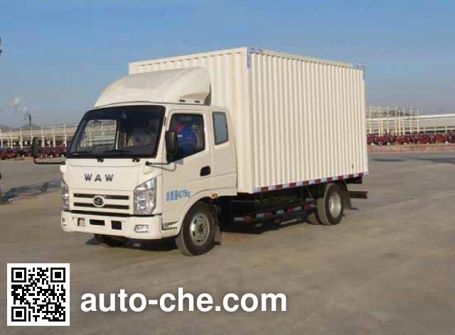 UFO FD5043XXYW16K box van truck