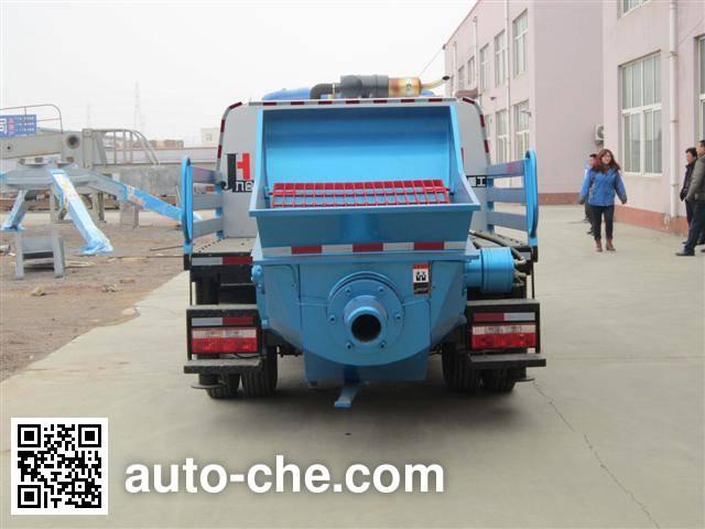 飞碟牌FD5083THB车载式混凝土泵车