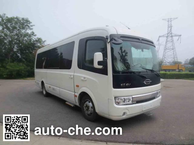 长江牌FDE6750TDABEV02纯电动客车