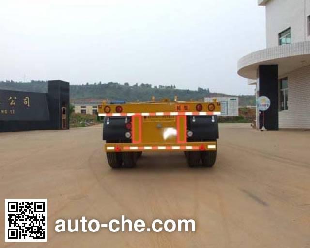 闽峰牌FDF9352TJZK集装箱运输半挂车