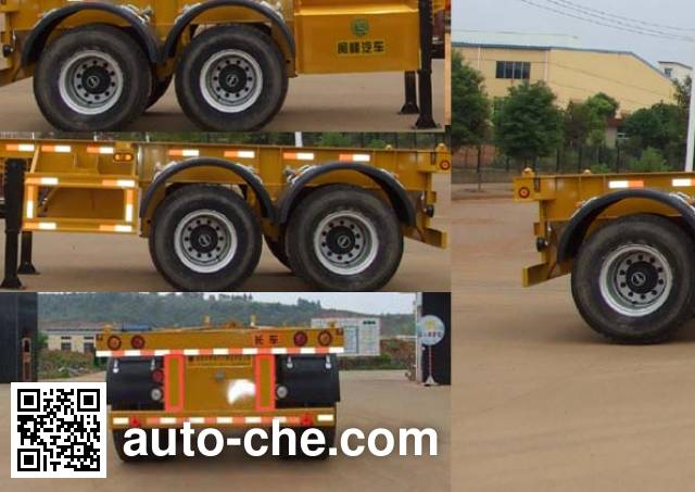 Minfeng FDF9352TJZK container transport trailer
