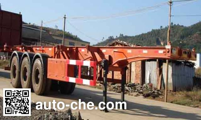 Minfeng FDF9370TJZK container transport trailer