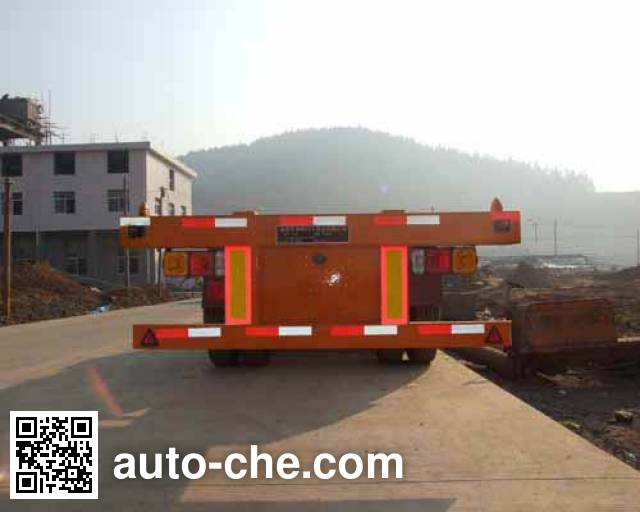 Minfeng FDF9372TJZK container transport trailer