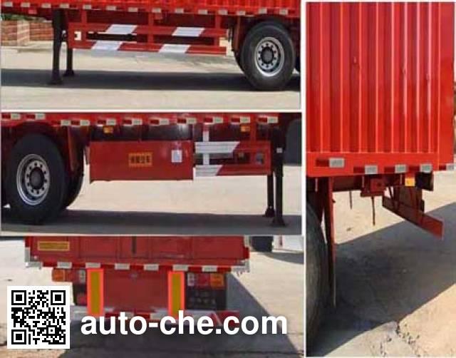 Minfeng FDF9403XXY box body van trailer