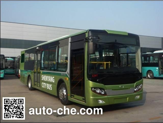 五洲龙牌FDG6101NG5城市客车