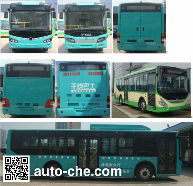 五洲龙牌FDG6103EVG纯电动城市客车