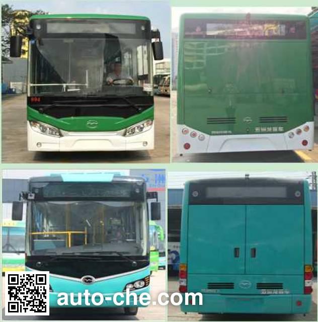 五洲龙牌FDG6105EVG纯电动城市客车