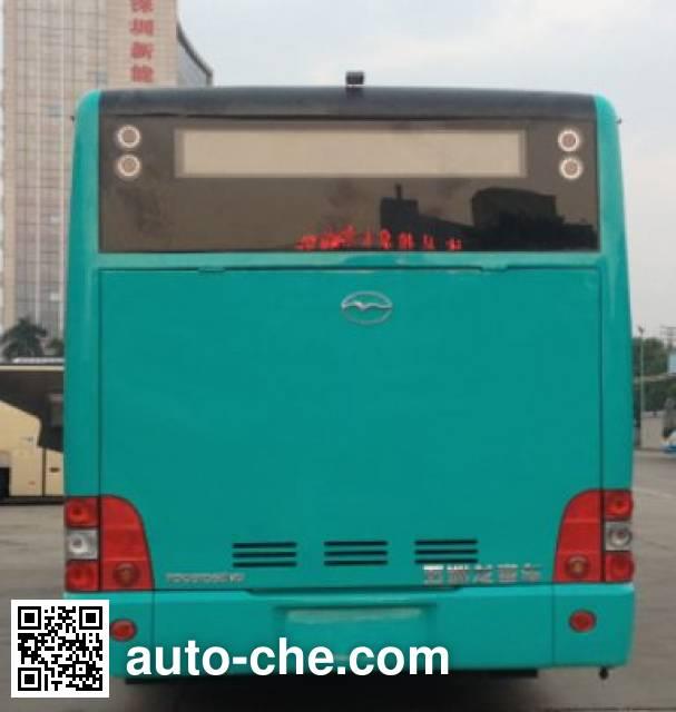 五洲龙牌FDG6105EVG1纯电动城市客车