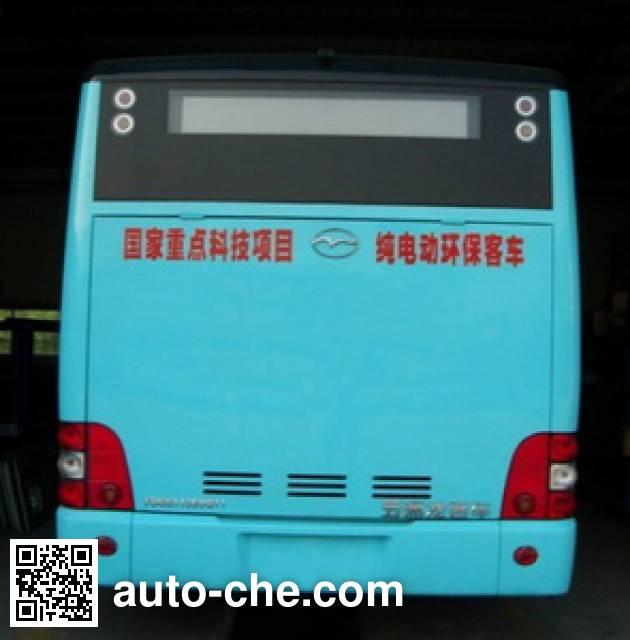 五洲龙牌FDG6113EVG11纯电动城市客车