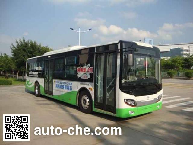 五洲龙牌FDG6113EVG5纯电动城市客车