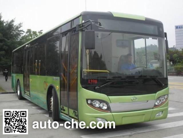 五洲龙牌FDG6117EVG纯电动城市客车