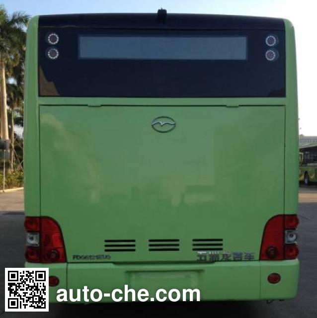 五洲龙牌FDG6121EVG纯电动城市客车