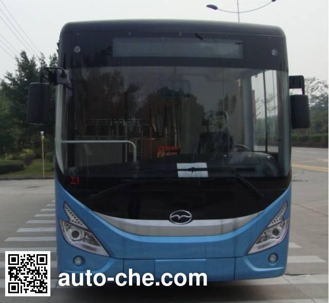 五洲龙牌FDG6123NG5-1城市客车
