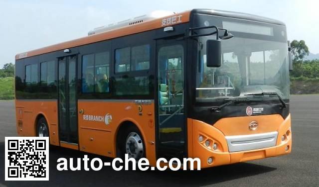 五洲龙牌FDG6851EVG11纯电动城市客车