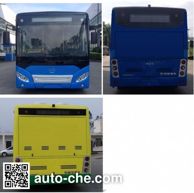 五洲龙牌FDG6851EVG6纯电动城市客车