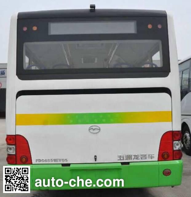 五洲龙牌FDG6851EVG5纯电动城市客车