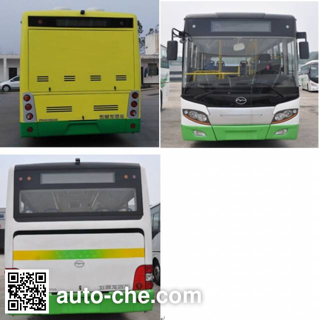 Wuzhoulong FDG6851EVG8 electric city bus