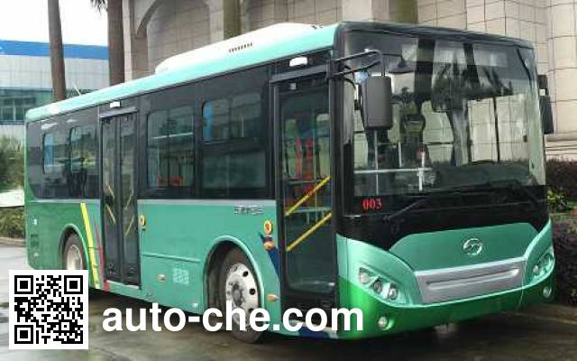 五洲龙牌FDG6851EVG8纯电动城市客车