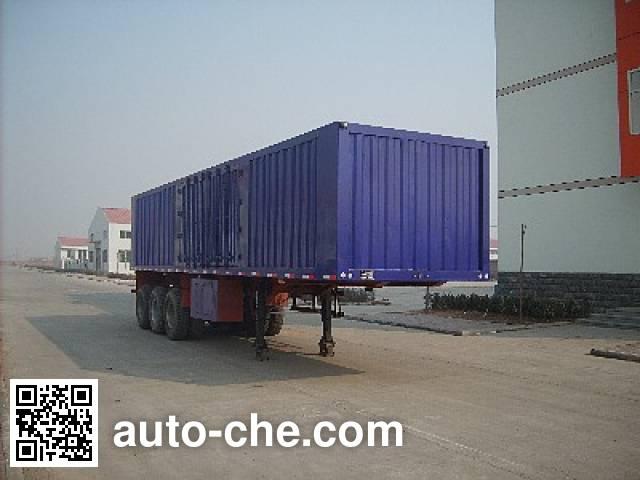 Yima FFH9401XXY box body van trailer