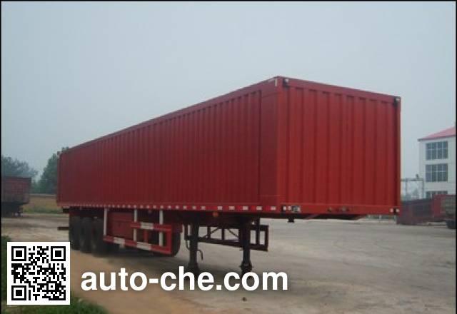 Yima FFH9402XXY box body van trailer