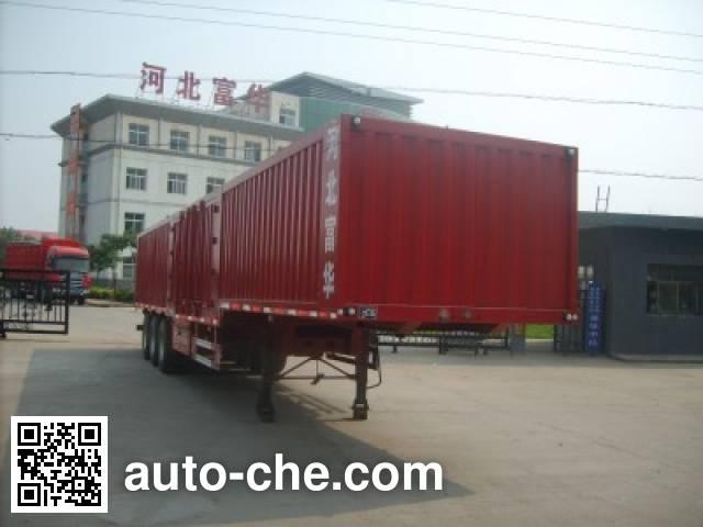 Yima FFH9404XXY box body van trailer