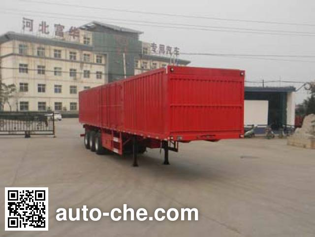 Yima FFH9407XXY box body van trailer