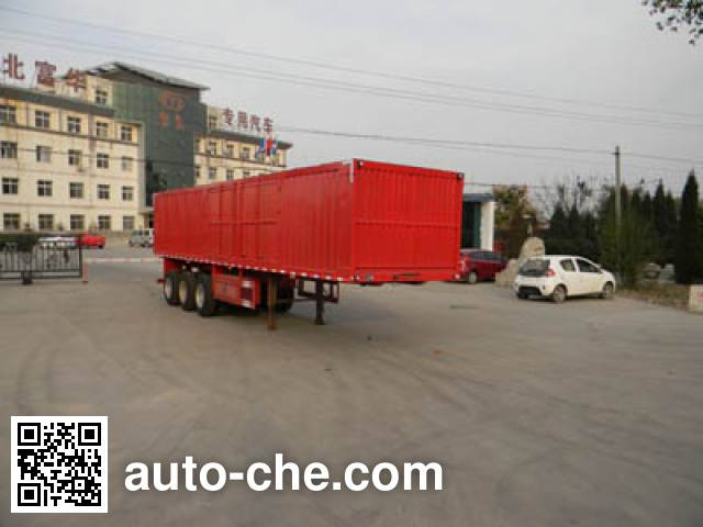 Yima FFH9408XXY box body van trailer