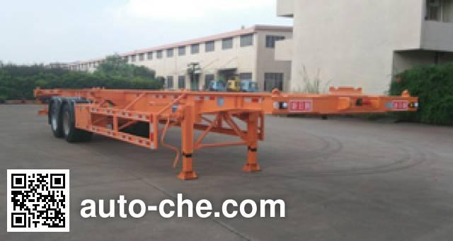 Xinrigang FFR9350TJZG container transport trailer