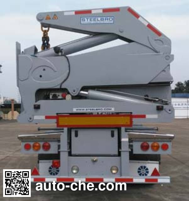Xinrigang FFR9400TCZ self-loading container transport trailer
