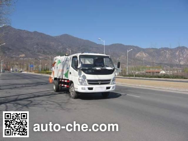 福田牌FHM5070ZYS压缩式垃圾车