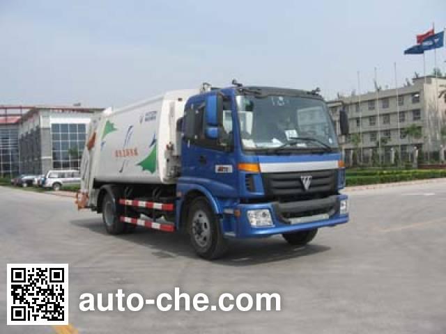 福田牌FHM5160ZYS压缩式垃圾车