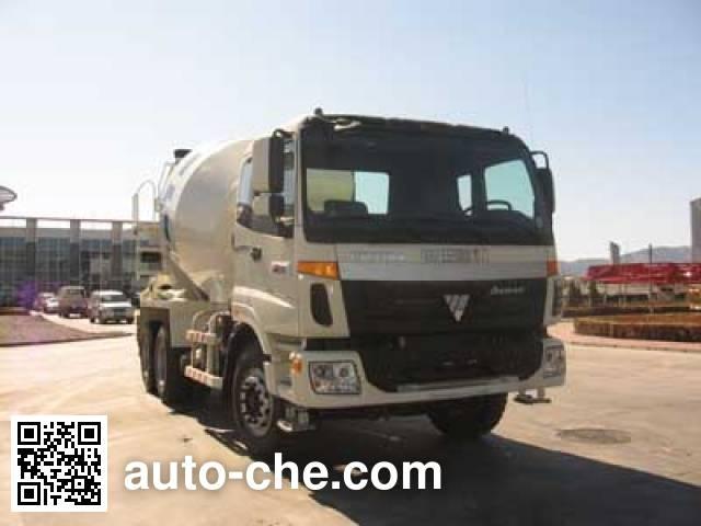 福田牌FHM5257GJB-1混凝土搅拌运输车