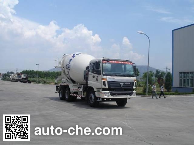 福田牌FHM5257GJB-1C混凝土搅拌运输车