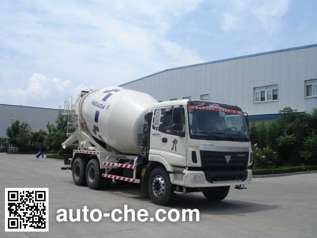 福田牌FHM5257GJB-2D混凝土搅拌运输车