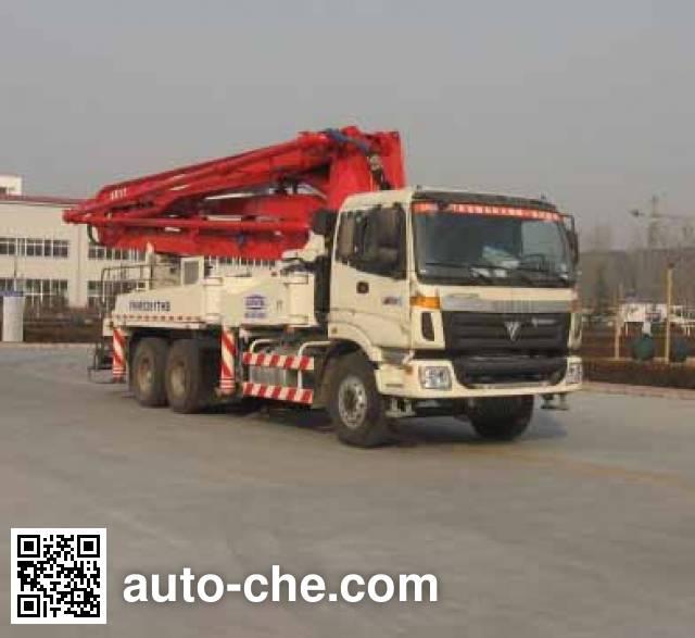 福田牌FHM5293THB混凝土泵车