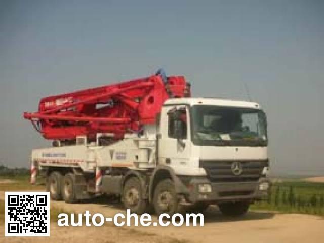 福田牌FHM5380THB混凝土泵车