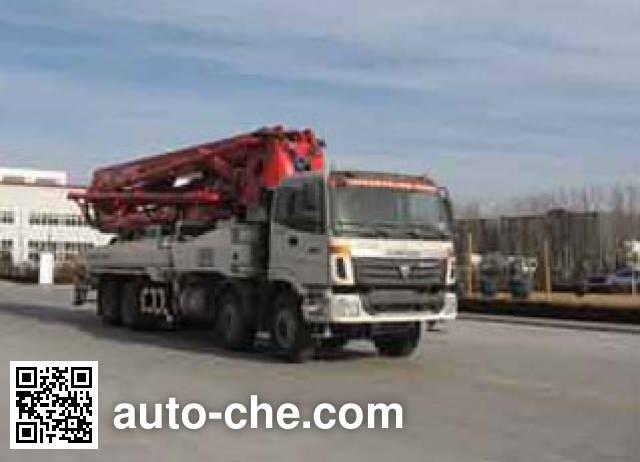 福田牌FHM5393THB混凝土泵车
