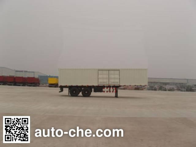 Foton Auman FHM9301N8X7J box body van trailer
