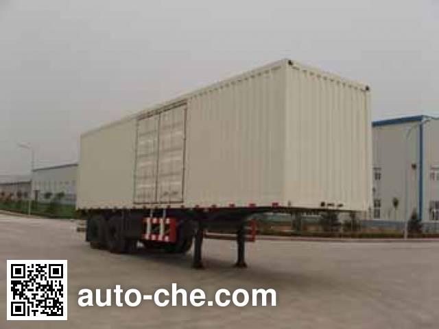 Foton Auman FHM9321N9X7K box body van trailer
