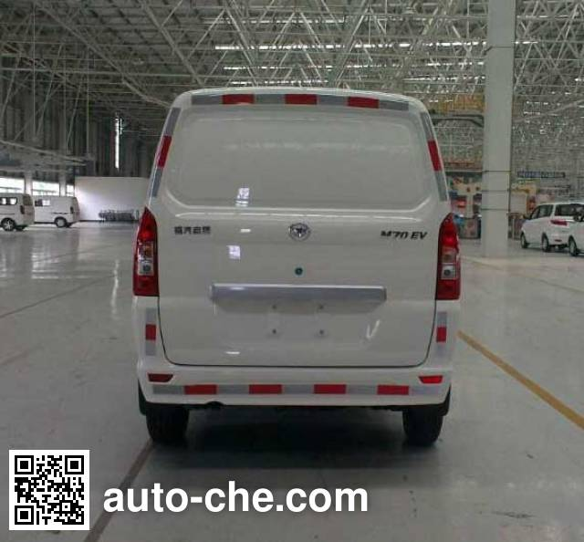 Fujian (New Longma) FJ5020XXYBEVA6 electric cargo van