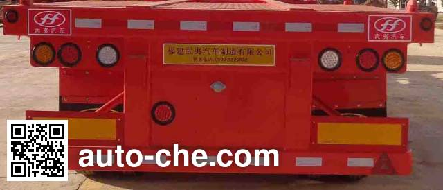Wuyi FJG9351TJZ container transport trailer