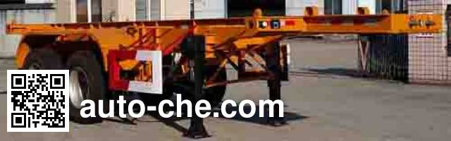 Wuyi FJG9351TWY dangerous goods tank container skeletal trailer