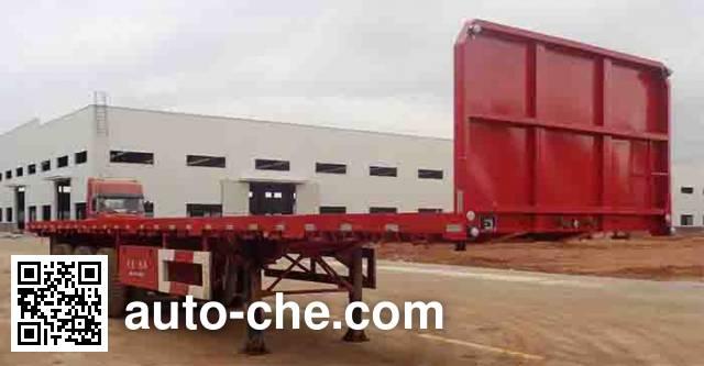 Wuyi FJG9402P flatbed trailer