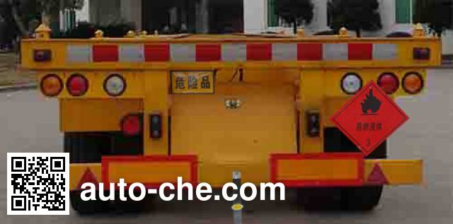 Wuyi FJG9402TWY dangerous goods tank container skeletal trailer