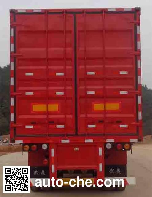 Wuyi FJG9402XXY box body van trailer