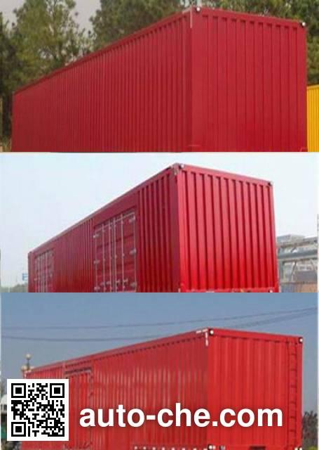 Wuyi FJG9403XXY box body van trailer